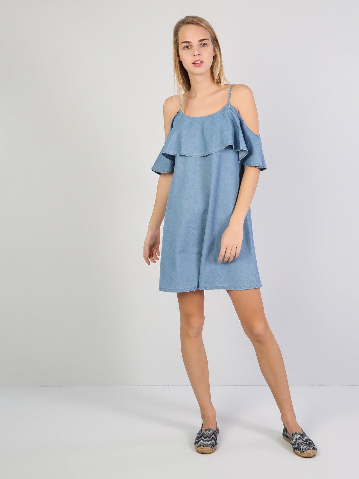 Показати інформацію про Сукня Жіноча Блакитна Cl1042937