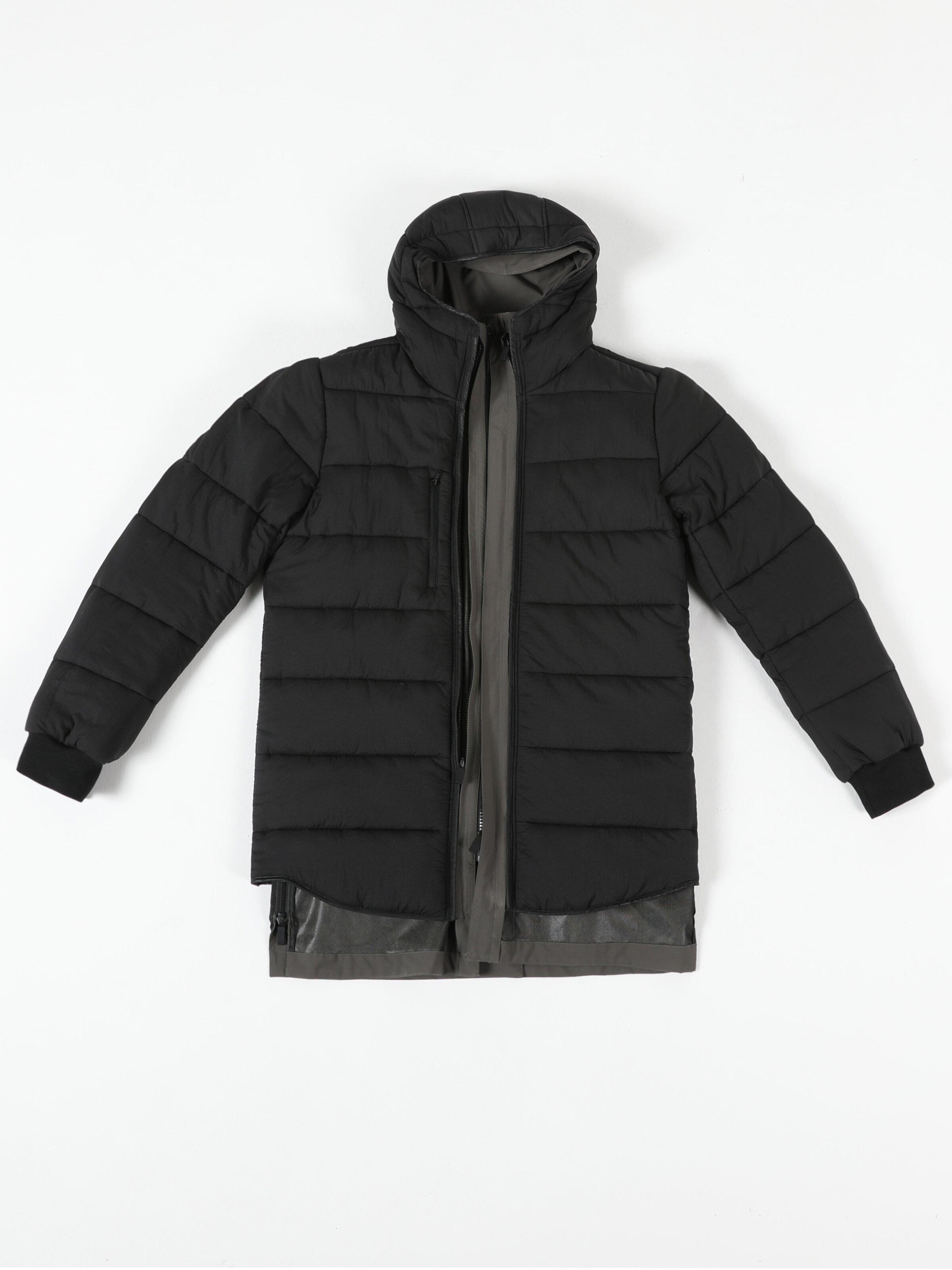 Показати інформацію про Пальто Чоловіче Хакі Класичного Крою Cl1050097