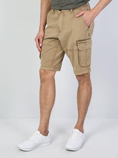 Зображення Блідо-коричневий чол. шорти