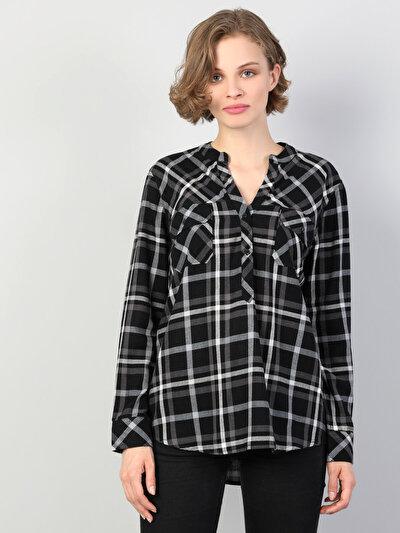Зображення Чорний жін. Сорочки з довгим рукавом