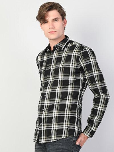Зображення Чорний чол. Сорочки з довгим рукавом