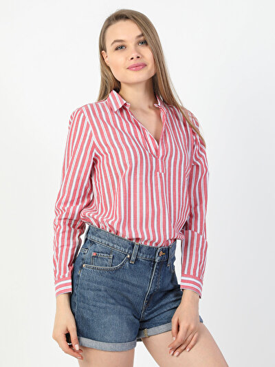 Зображення  жін. Сорочки з довгим рукавом