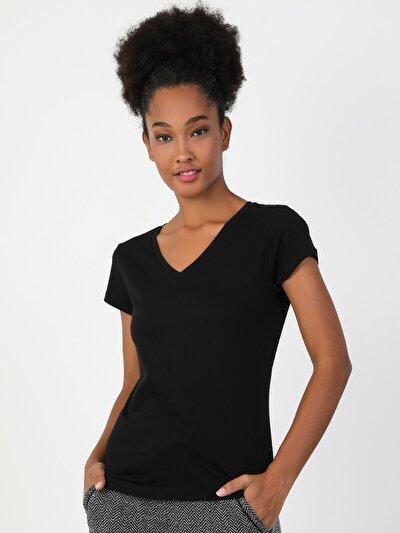 Зображення Чорний жін. Футболки з коротким рукавом