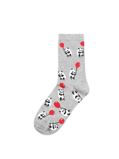 Зображення Сірий жін. Шкарпетки