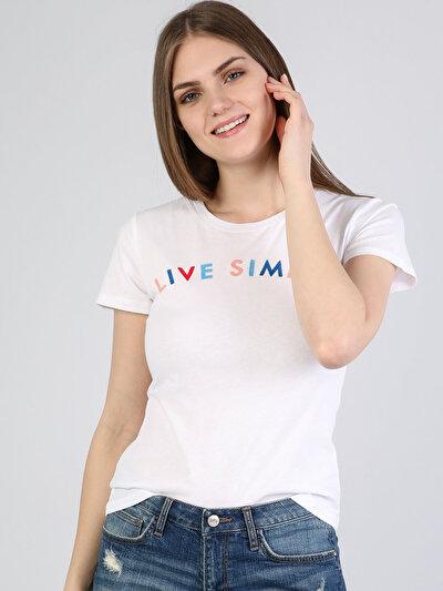 Зображення Білий жін. Футболки з коротким рукавом